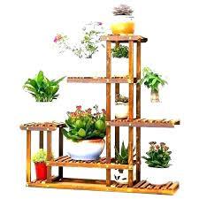outdoor corner shelf single plant d furniture raised flower pot holders indoor garden shelving unit with