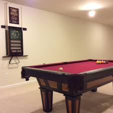 reno 7 foot pool table with play pack