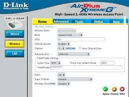 Руководство по настройке <b>точки доступа D</b>-<b>Link DWL</b>-2100AP в ...
