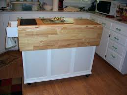 great folding kitchen islands a9275486 origami folding kitchen island cart with casters bronze