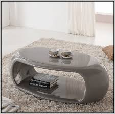high gloss oval coffee table white home decorating