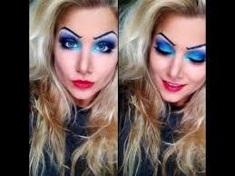 ursula inspired makeup tutorial