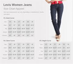 Most Popular Mens Jean Size Chart Levis Jacket Size Chart