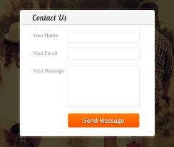 simple contact form create simple contact form using javascript formget