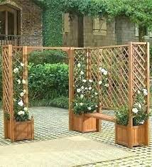 flower box with trellis full image for garden planters backing best planter boxes outdoor flow diy