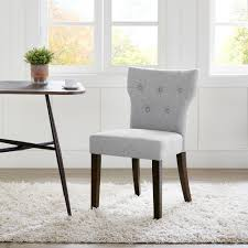 tufted back dining chair. Madison Park Hayes Grey Tufted Back Dining Chair 2-Piece Set - Free Shipping Today Overstock 18681820
