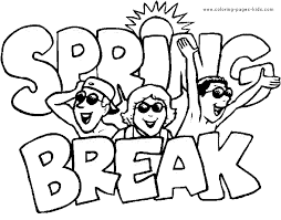 Summer Color Page Coloring Pages For Kids Holiday Seasonal