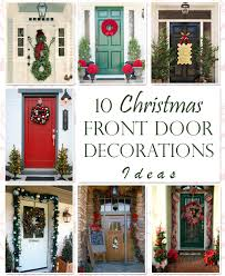 christmas front door decorations10 Unique Christmas Front Door Decorations Ideas