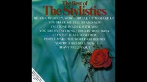 the stylistics give a little love for love
