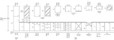 Kitchen Cabinet Standard Dimensions Widths Depth Of Sizes