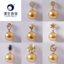 2019 ys 14k gold pearl pendant accessory without pearl diy personal customized design pendant accessory no 2 link from cukojew 55 38 dhgate com