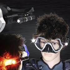 Goggles Led Light Mask Scuba Mask Light High Quality Scuba Mask Light