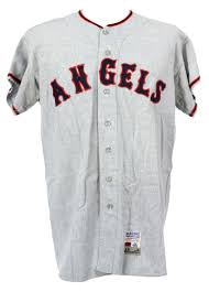 - Game Stuart California Dick Jersey Road mears Detail Angels Lot Worn 1969 Loa