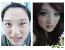 anime eyes makeup before after. Anime Makeover Internet Memes To Eyes Makeup Before After Trend Hunter