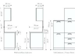 kitchen cabinet depth s standard singapore