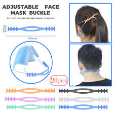 20PCS Fourth Gear <b>Adjustable Anti Slip Mask</b> Ear Extension Mask ...