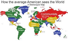 Satire Vereinigten Aus Theology Maps Und Den Von Staaten Amerika