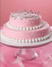 Image Result For Simple Cinderella Cake With Tiara 5th Birthday