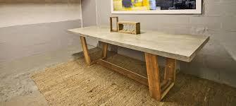 cabinet sliding doors concrete wooden table