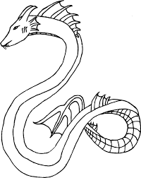 Sea Monster Drawing At Getdrawingscom Free For Personal Use Sea