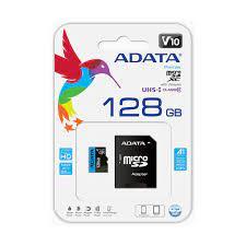THẺ NHỚ MICRO ADATA 128GB UHS-I CLASS10 A1 - THUY MINH DISTRIBUTOR