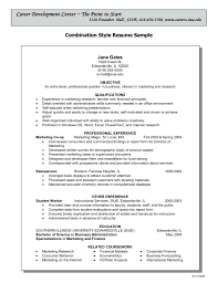 Resume: Functional Resume Sample