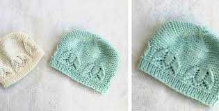 Free Knitting Patterns For Baby Hats Adorable Liliana Knitted Lace Baby Hat [FREE Knitting Pattern]