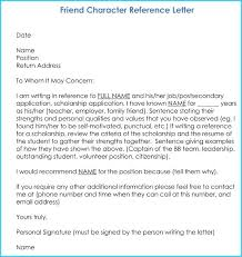 Print Rental Reference Letter Free Sample Character For Court ...