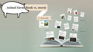 Book Vs Movie Venn Diagram Animal Farm Book Vs Movie By Arianna Colella On Prezi