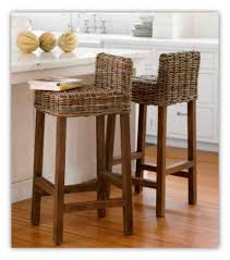 skillful bar stools without backs rattan type furniture super with inside wooden breakfast bar stool