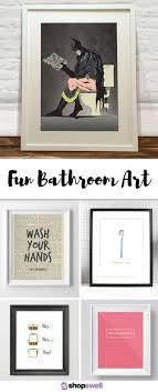 vintage bathroom wall decor. Fun Bathroom Art Vintage Wall Decor R