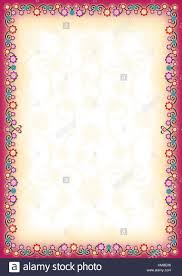 Pink Yellow Floral Portrait Frame With Lighter Yellow Floral Same