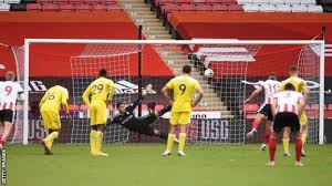 Watch from anywhere online and free. Sheffield United 1 1 Fulham Billy Sharp Rescues Point With Penalty Bbc Sport