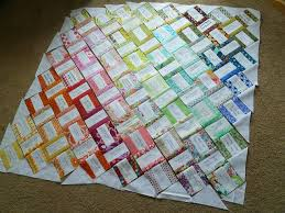 signature quilts | ... make a sweet wedding signature quilt ... & Pre-sew white strip onto colored fabric and then piece together for signature  quilt guest book Fortlage, Coleman Adamdwight.com