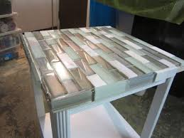 How To Tile A Small Table Top