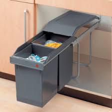 Image Hinged Door Plastic Sliding Wastebin 15 Richelieu Hardware Pullout Waste Bins Richelieu Hardware