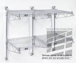 wall mounted wire shelving. Heavy Duty Wall Mounted Wire Shelving 24 Deep I