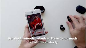 How to use <b>TWS</b> wireless <b>bluetooth</b> earbuds from DODUMI - YouTube