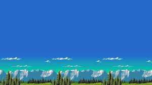 retro Games, Mountain, 8 bit Wallpaper ...