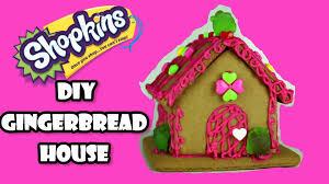 Premade Gingerbread Houses Shopkins Gingerbread How To Decorate A Gingerbread House How To