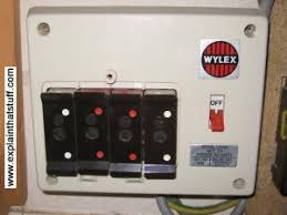 how do surge protectors and fuses work explain that stuff old fashioned fusebox using fuse wire