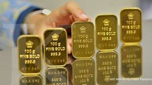 Hasil gambar untuk Emas Turun Pasca China Memangkas Suku Bunganya, Palladium Anjlok