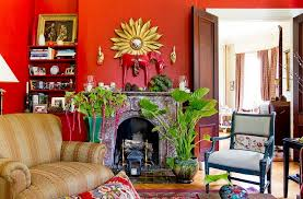 This living room uses mainly two colors. Red Living Rooms Design Ideas Decorations Photos