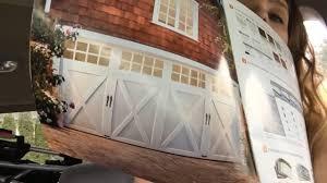 Country Paint Colors | Barn Style Garage Doors | Custom Door Bell ...