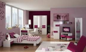 bedroom furniture for teenagers. Bedroom Designs For A Teenage Girl Extraordinary Ideas White Furniture Teen Design Pink Purple Wall Color Teenagers