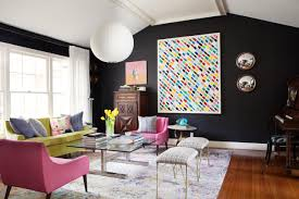 eclectic home office alison. Eclectic Home With Black Walls 8 Photos Office Alison