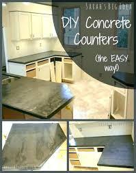 black concrete concrete dark cabinets with concrete concrete countertops over laminate black concrete how to get certain concrete countertop finish over
