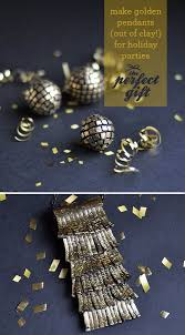 the perfect gift gold leaf pendants