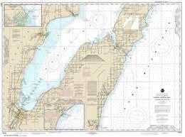 14910 Lower Green Bay Algoma And Oconto Nautical Chart