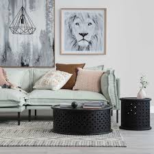 Oz furniture design Fraser The Denver Sofa Love Its Slimline Black Legs Paired With Pale Green Textured Twill Fabric And Statement Seams Supa Centa Moore Park Currently Coveting Oz Design Furnitures Winter Collection The